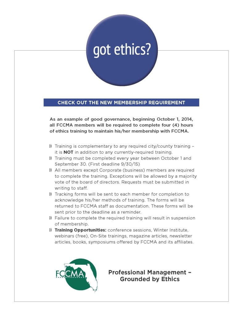 got ethics flyer