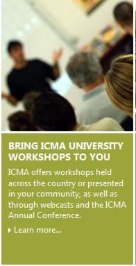 ICMA Workshops