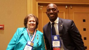 Altamonte Springs Mayor Pat Bates and Miramar Wayne Messam